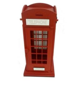 Cabine Telefônica Londres- Porta Chá Em Mdf Pintado