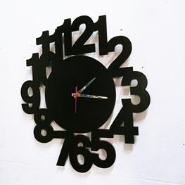 Relógio Decorativo em MDF -  50cm