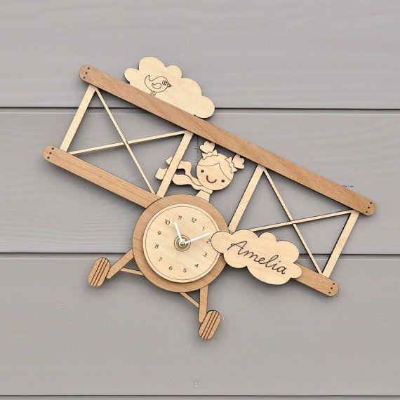 Relógio De Parede Infantil Personalizado Em Mdf