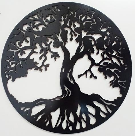 Mandala Árvore Da Vida Em Mdf