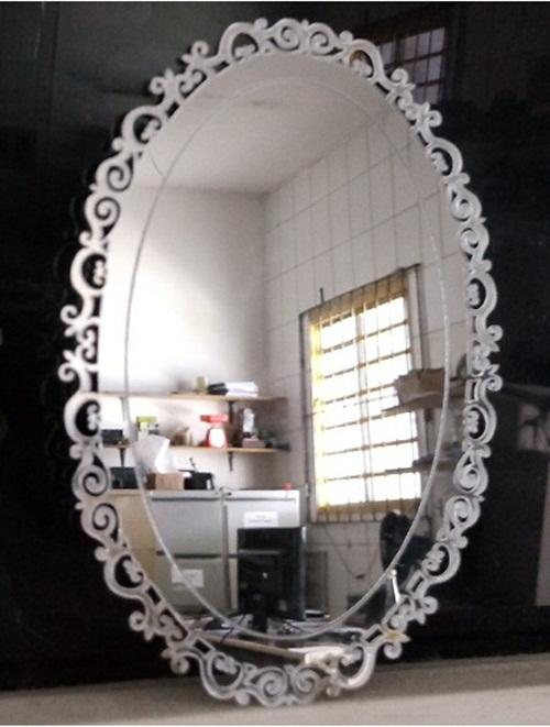 Espelho Decorativo Em Acrílico Veneziano Alfa ESPELHO DECORATIVO EM ACRÍLICO VENEZIANO ALFA