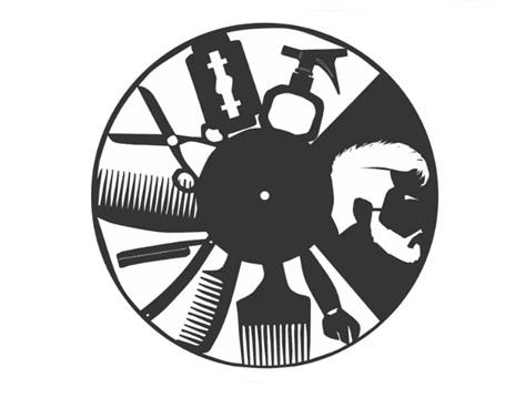Relógio Para Barbearia / Barbeiro Personalizado Mdf