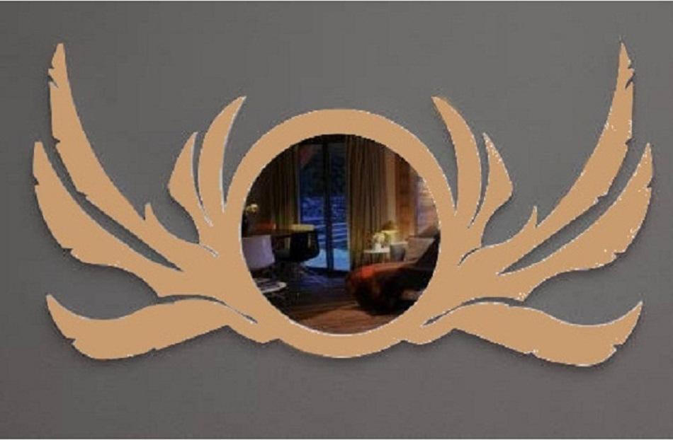 Moldura Para Espelho Decorativo Mdf Cru 60x30